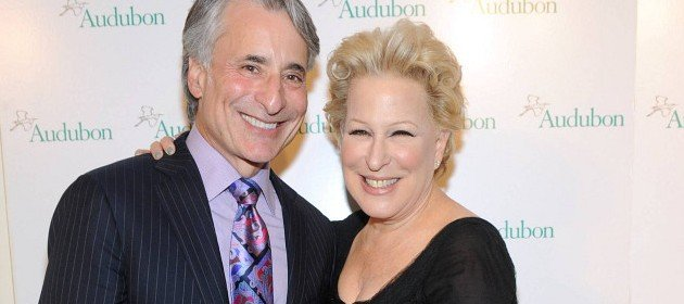 Bette Midler and David Yarnold