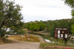 Arivaca Lake- The last stop before Mexico