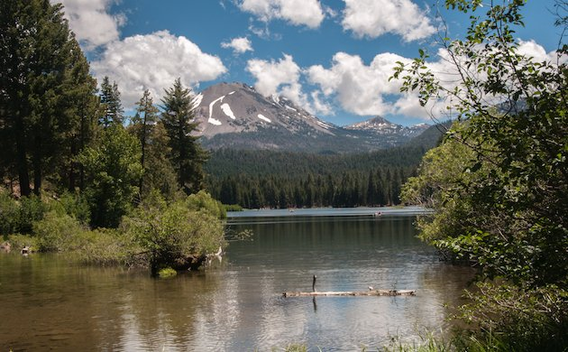 Mount Lassen and Manzanita Lake