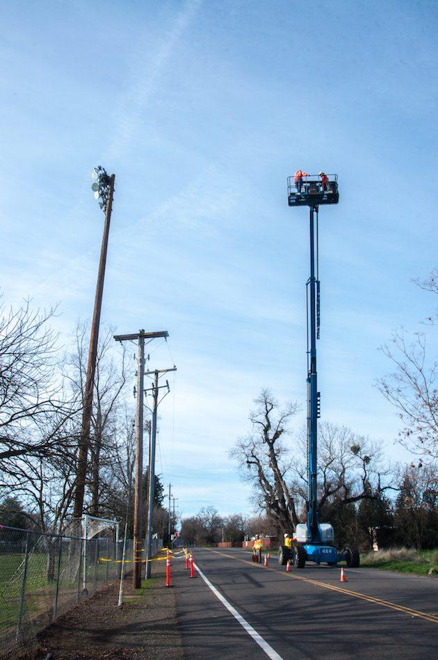 Osprey Nesting Platform Installed