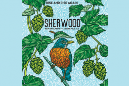"""Rise and Rise Again"" – Connecticut Valley Brewing Company: Sherwood Double New England Style India Pale Ale"