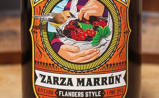"""""""A Flanders Brown Thanksgiving"""" – Casa Agria Specialty Ales: Zarza Marrón"""