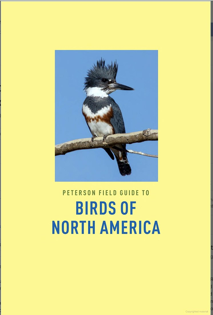 Peterson Field Guide to Birds of North America, Second Edition: A Field Guide Review