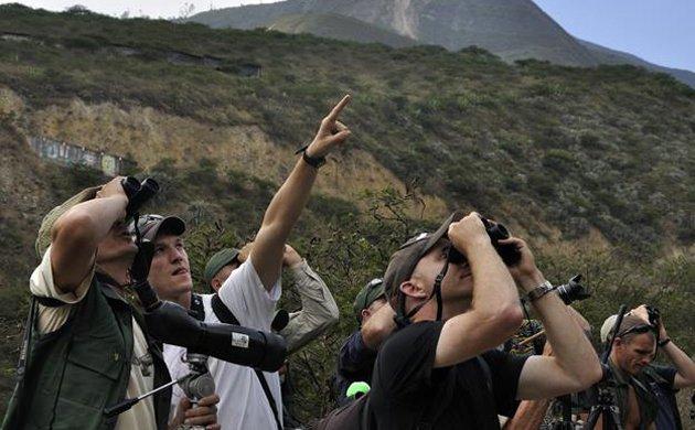 Birders in Northern Peru