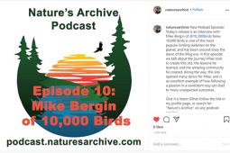 Mike Bergin on Nature's Archive Podcast