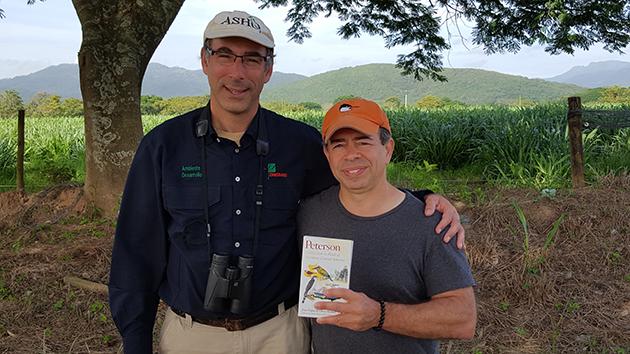 Oliver Komar and Mike Bergin