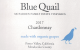 Blue Quail Wine: Chardonnay (2017)