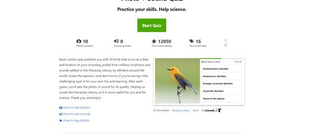 10,000 Birds eBird Photo Quizzes: A Great Way to Prepare for a Trip